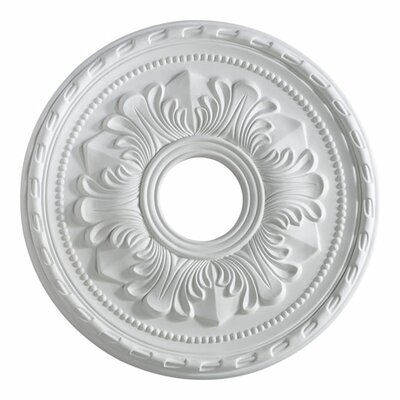 "Quorum 17"" Ceiling Medallion in Studio White"