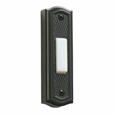 Quorum Zinc Door Chime Button in Old World