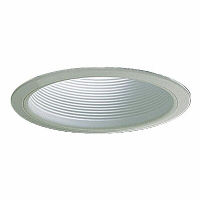 Step Baffle Par 38 Recessed Lighting Trim in White