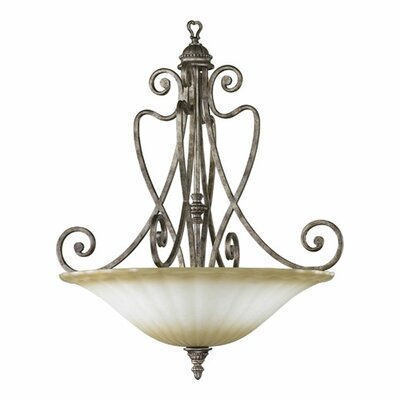Quorum Summerset 5 Light Inverted Pendant