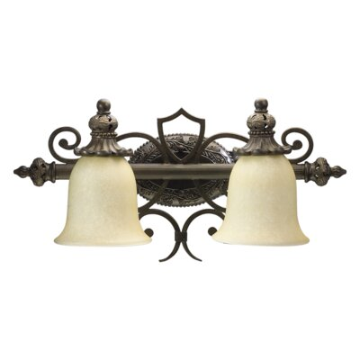 Quorum Fulton 2 Light Bath Vanity Light