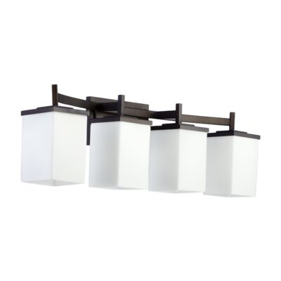 Quorum Delta 4 Light Bath Vanity Light