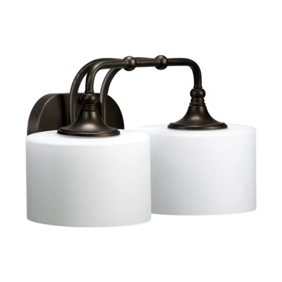 Quorum Rockwood 2 Light Bath Vanity Light