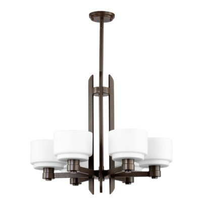 Quorum Stillman 6 Light Chandelier