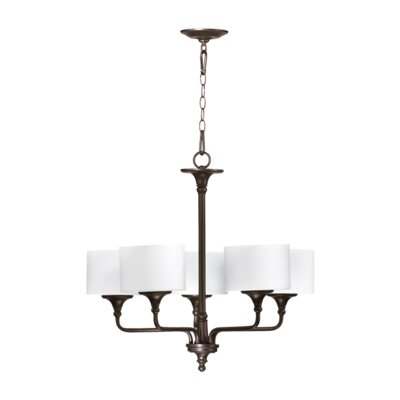 Quorum Rockwood 5 Light Chandelier
