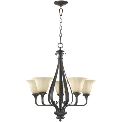 Quorum Randolph 5 Light Chandelier