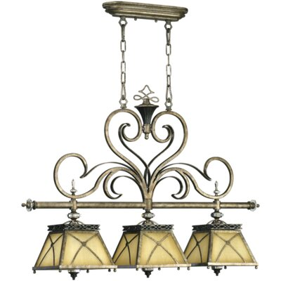 Quorum Arianne 3 Light Kitchen Island Pendant