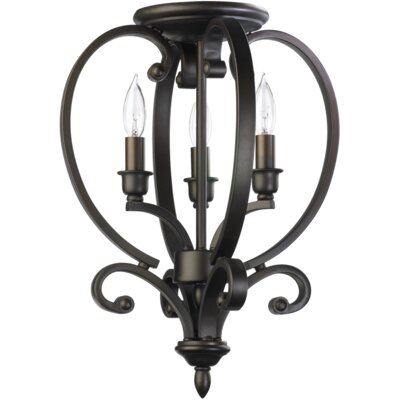 Quorum Bryant 3 Light Foyer Pendant