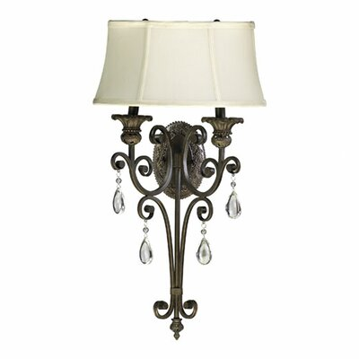 Quorum Fulton 2 Light Wall Sconce