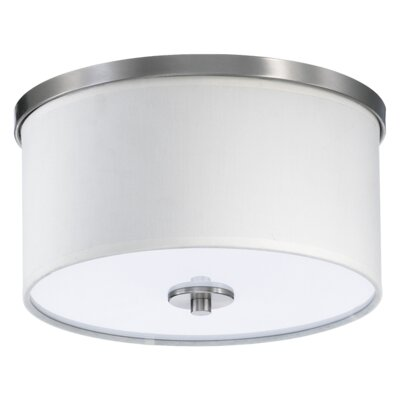Quorum Cirrus 1 Light Flush Mount