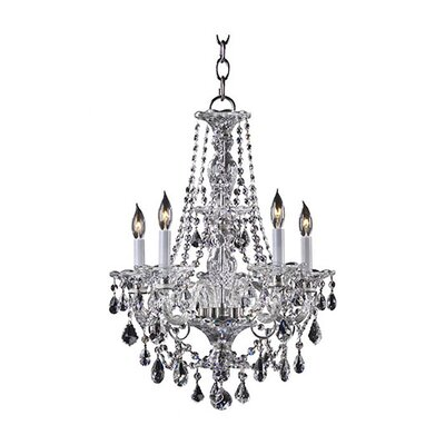 <strong>Quorum</strong> Bohemian Marien 5 Light Chandelier