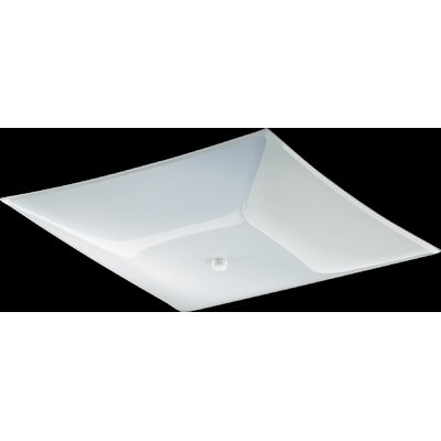 Quorum 2 Light Flush Mount