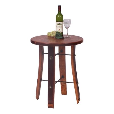 2 Day Designs, Inc Round Stave End Table