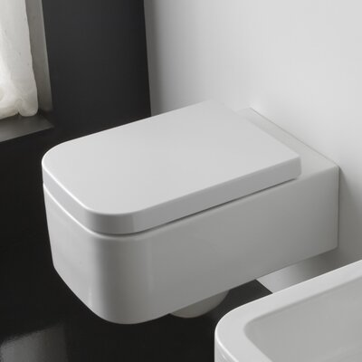 Scarabeo by Nameeks Next Wall Mount 1 Piece Toilet
