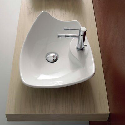Kong Above Counter Single Hole Bathroom Sink - Art. 8051/R