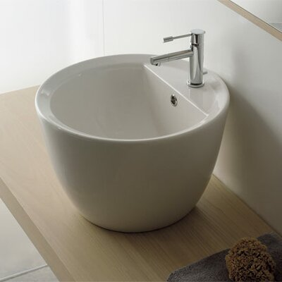 Scarabeo by Nameeks Matty Tondo Above Counter Single Hole Bathroom Sink