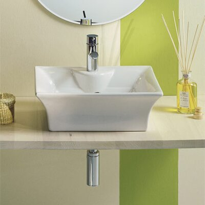 Scarabeo by Nameeks Tango Above Counter Single Hole Bathroom Sink