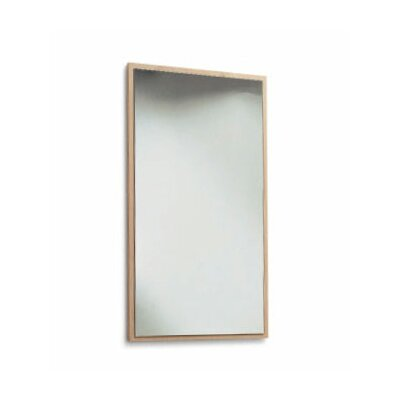 "Scarabeo by Nameeks Brio 29.5"" Mirror with Wood Frame"