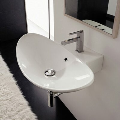 Zefiro Wall Mounted Bathroom Sink - Art. 8203