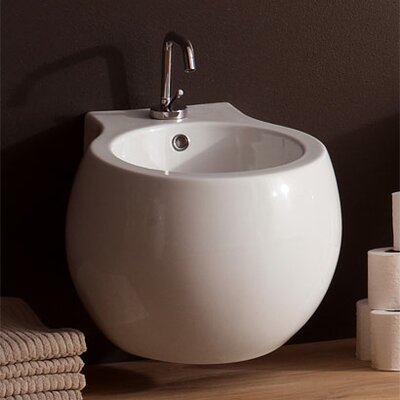 Scarabeo by Nameeks Planet Wall Mount Bidet