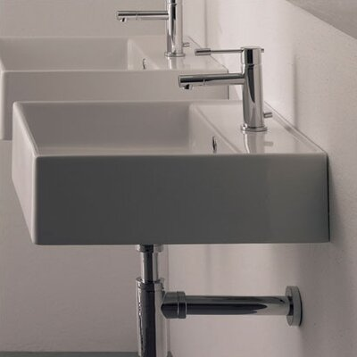 Teorema Wall Mounted Bathroom Sink - Art. 8031/R-40