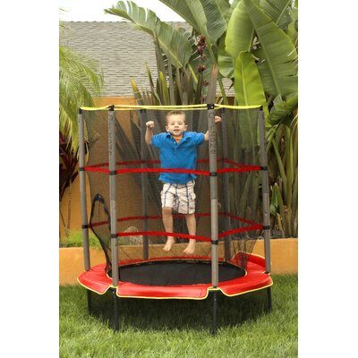 "AirZone 55"" Kids Trampoline with Enclosure"