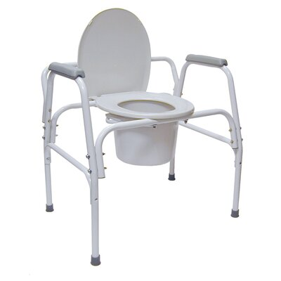 DMI® Extra Wide Heavy Duty Steel Commode