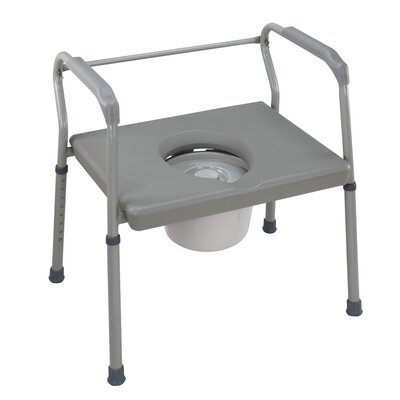 DMI® Heavy Duty Steel Commode