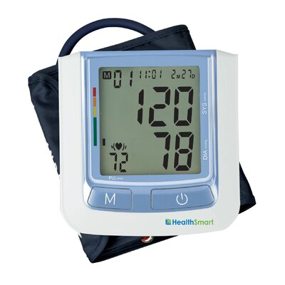 Healthsmart Standard Automatic Digital Blood Pressure Monitor in Blue