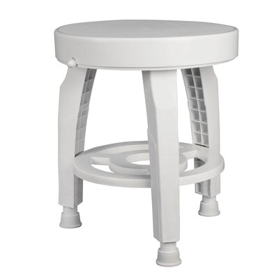 Briggs Healthcare HealthSmart Shower Stool Rotating Seat