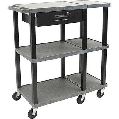 H. Wilson Company Tuffy Extra Wide Open Shelf Presentation Station