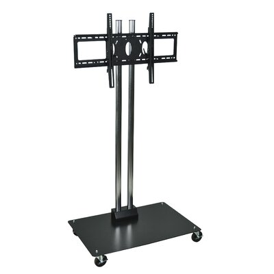 "H. Wilson Company 62"" Flat Panel Stand with 4"" Casters (37"" - 60"" Screens)"