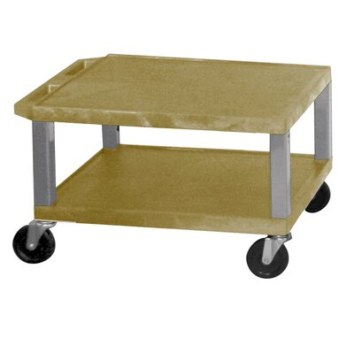 "H. Wilson Company Tuffy 16"" 2-Shelf Utility Cart"