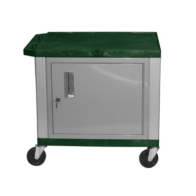 "H. Wilson Company Tuffy 26"" Cart with Cabinet and Legs"