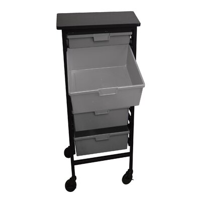 H. Wilson Company Mobile Workstation Storage Unit with Drawers