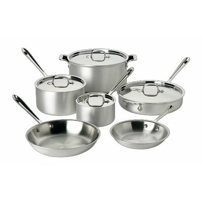 All-Clad Master Chef 2 10-Piece Cookware Set