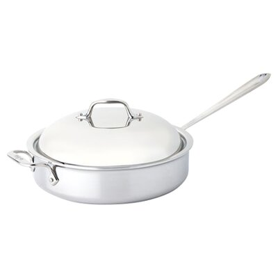 All-Clad Stainless Steel 4-qt. Saute Pan with Domed Lid