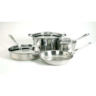 Copper Core 7-Piece Cookware Set