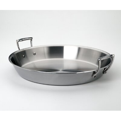 "All-Clad Stainless 16"" Paella Pan"