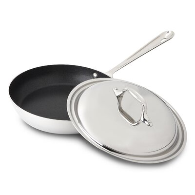 All-Clad Stainless Steel Nonstick French Skillet with Domed Lid