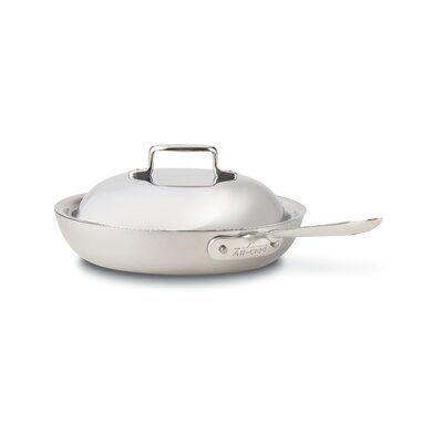 All-Clad Stainless Steel Non-Stick French Skillet with Domed Lid