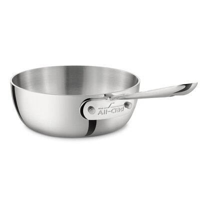 All-Clad Stainless Steel 1-qt Saucier