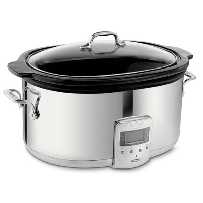 All-Clad Electrics 6.5-Quart Slow Cooker