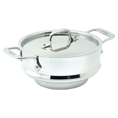All-Clad Stainless Steel 3-qt. All Purpose Steamer Insert