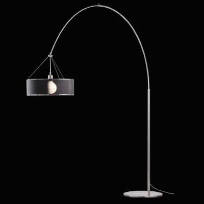 &'Costa Steel Arc 50 Floor Lamp