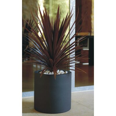 Cilinder Fang Round Flower Pot Planter