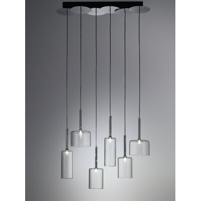 Axo Light Spillray 6 Light Chandelier