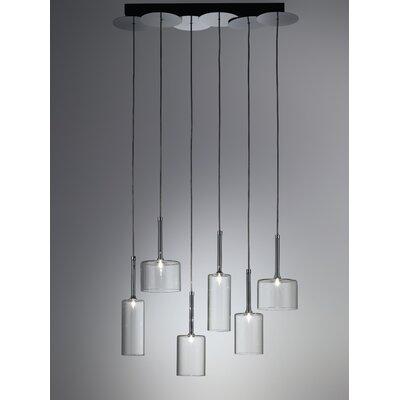 Axo Light Spillray 6 Light Chandelier