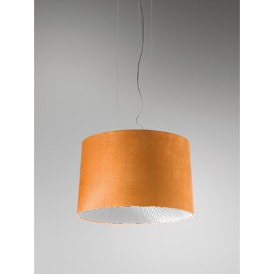Axo Light Velvet Drum Pendant (Fluorescent)