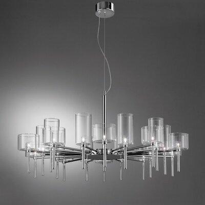 Axo Light Spillray 20 Light Crystal Chandelier